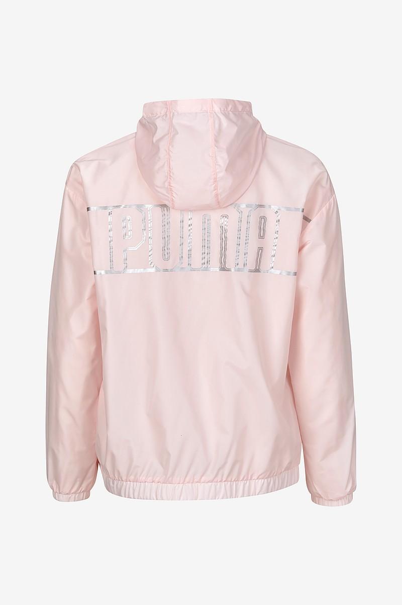 14325bac Puma Treningsjakke Spark 3/4 Zip Hooded Jacket - Rosa - Dame - Ellos.no