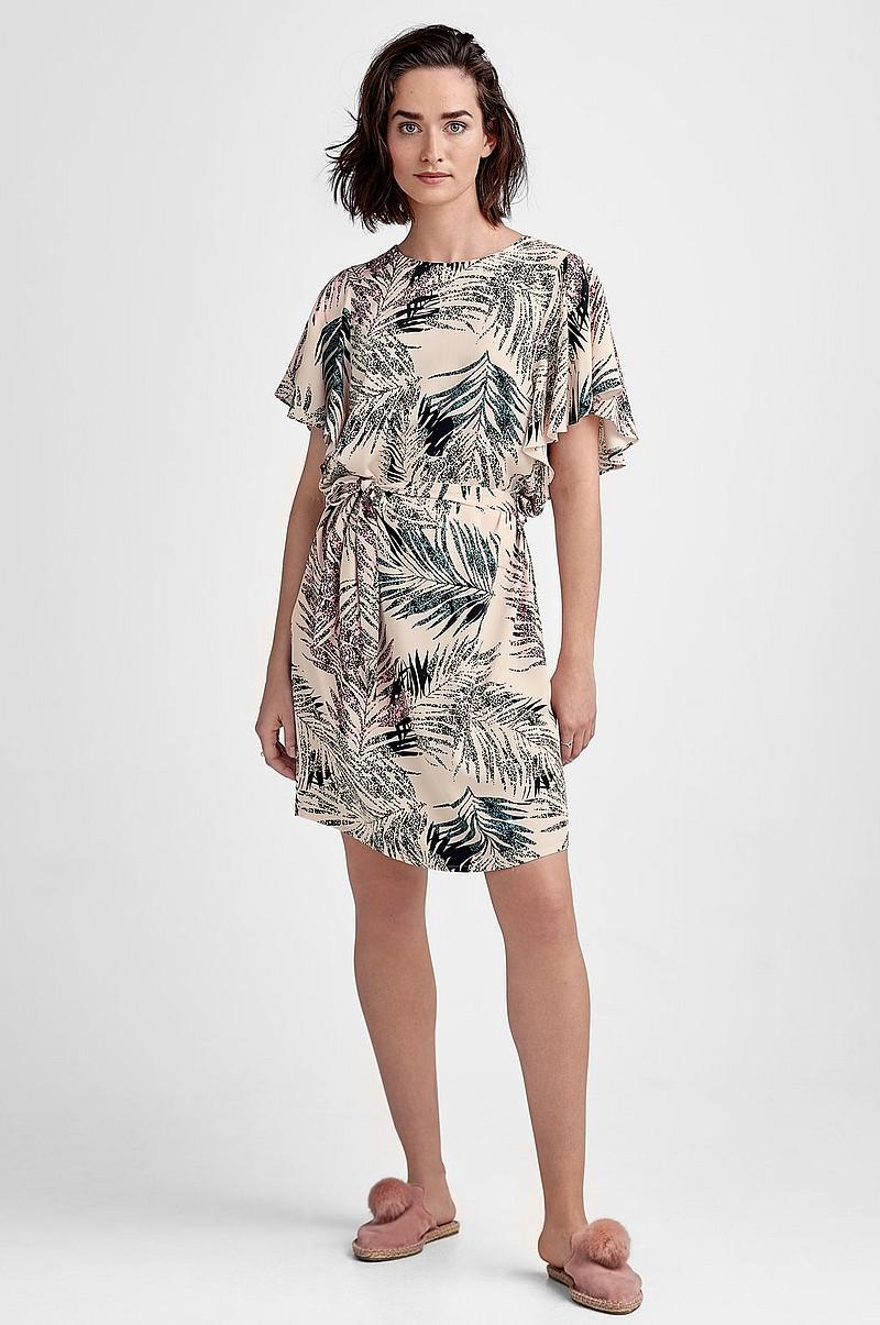 Saint Tropez Palm P Dress -mekko - Roosa - Naiset - Ellos.fi 697920cbdf