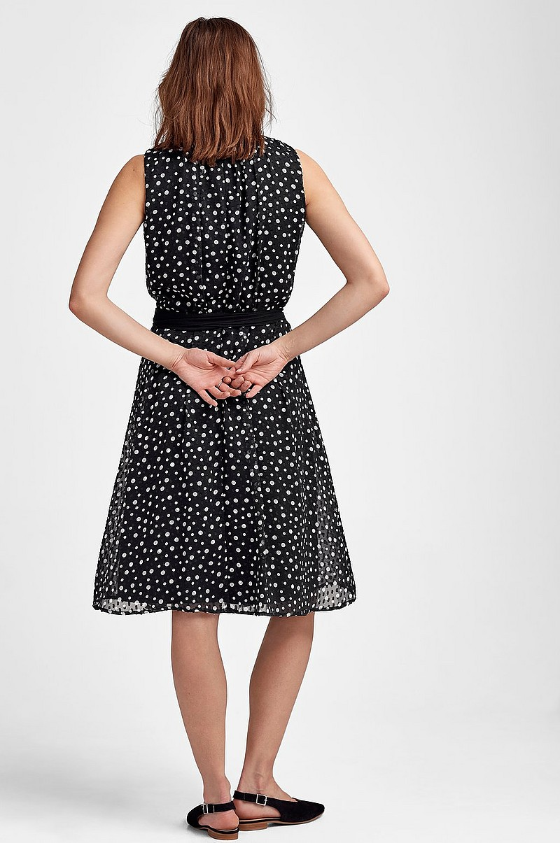 Kjole Dotted Plumeti Dress