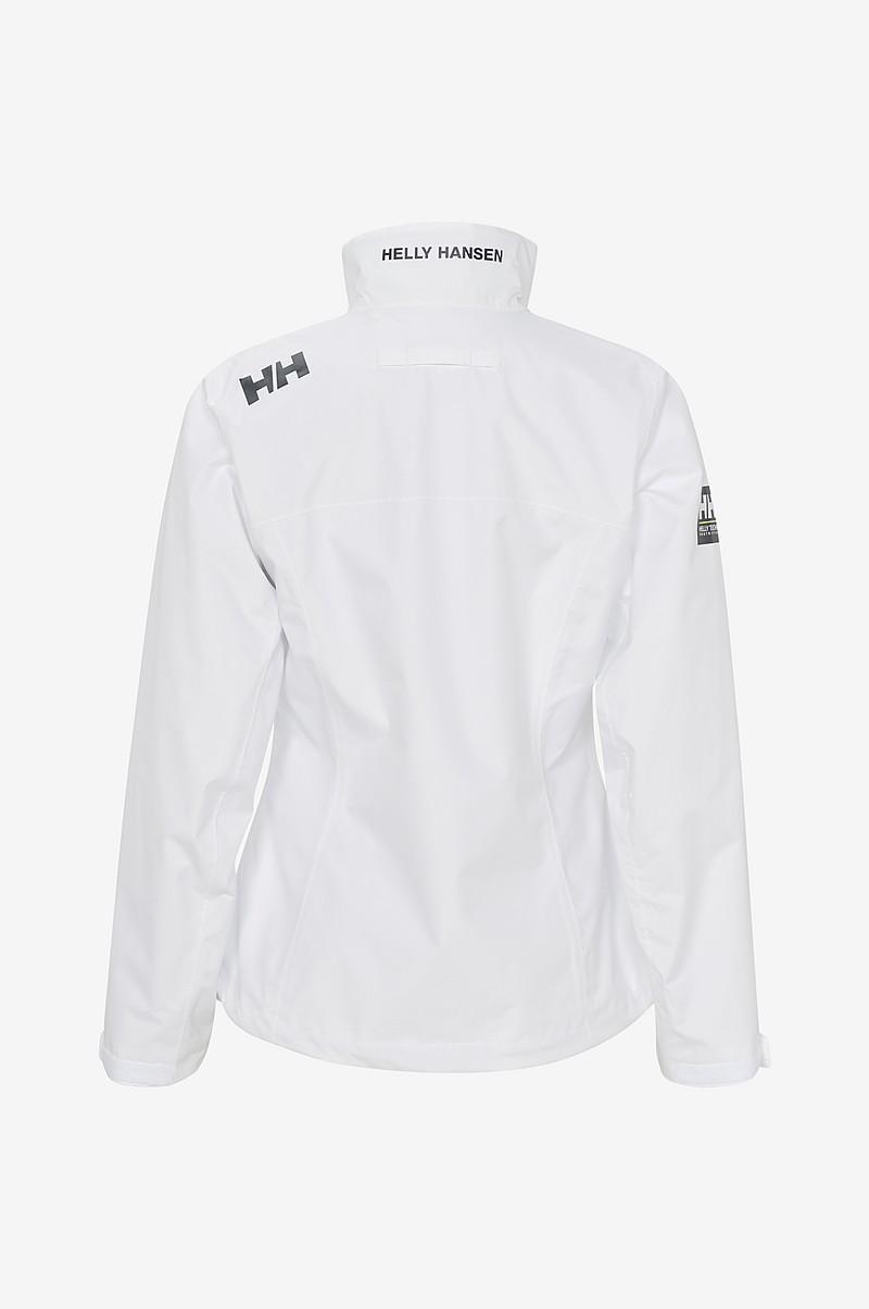 307a61d5 Helly Hansen Jakke W Crew Jacket - Hvit - Dame - Ellos.no
