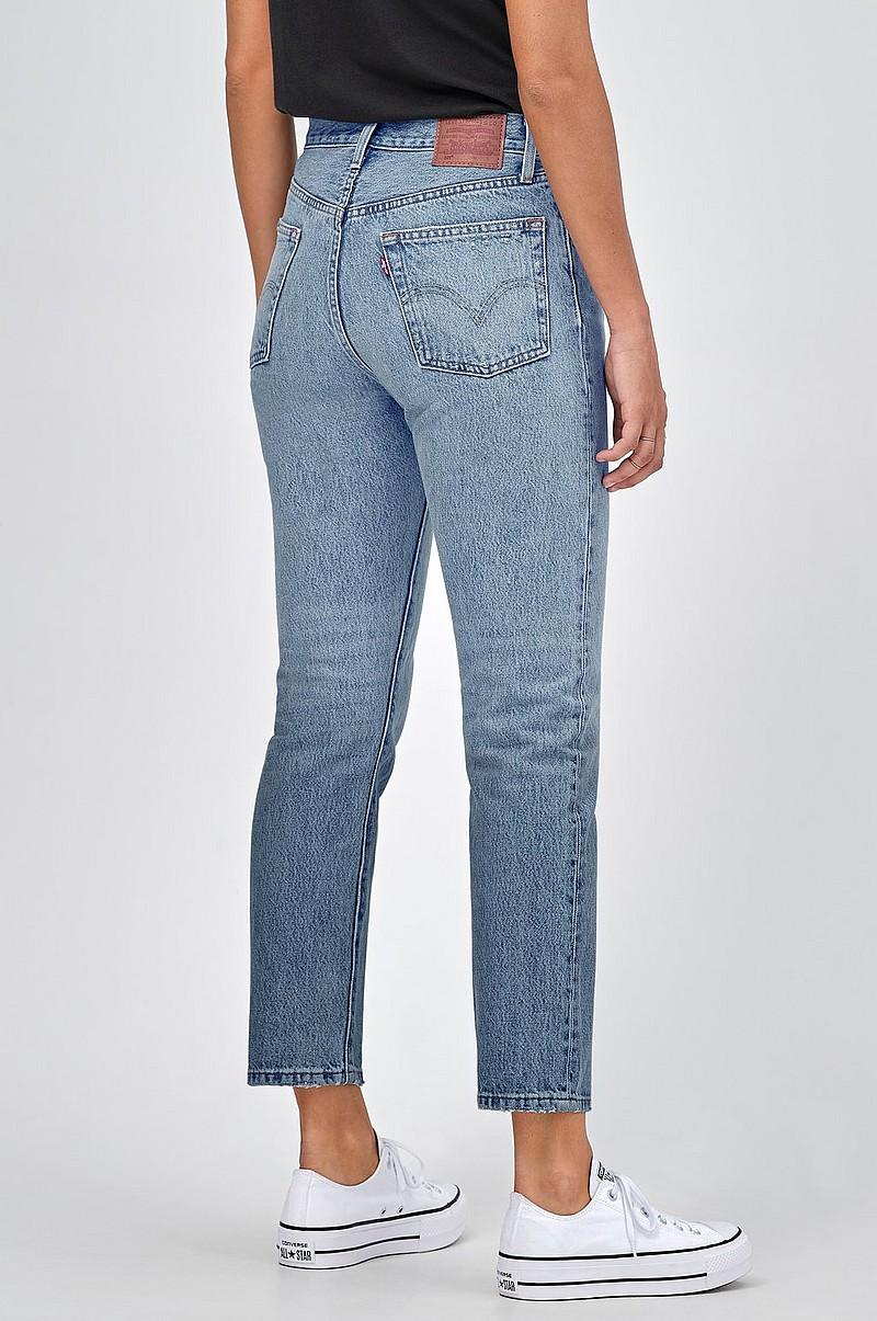 4d068d45fc8 Levi's Jeans 501 Crop Lovefool - Blå - Dam - Ellos.se