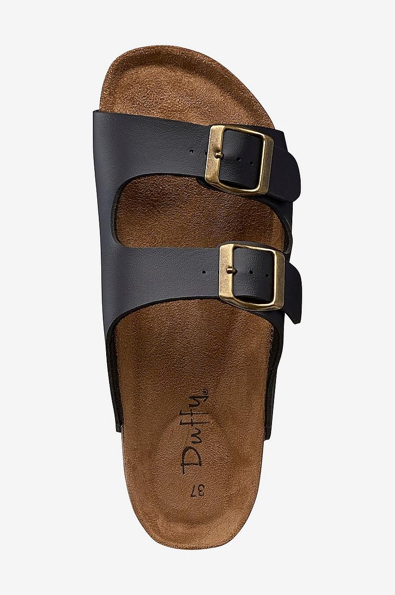 c5c843685b8 Duffy Sandal med høj hæl - Sort - Dame - Ellos.dk