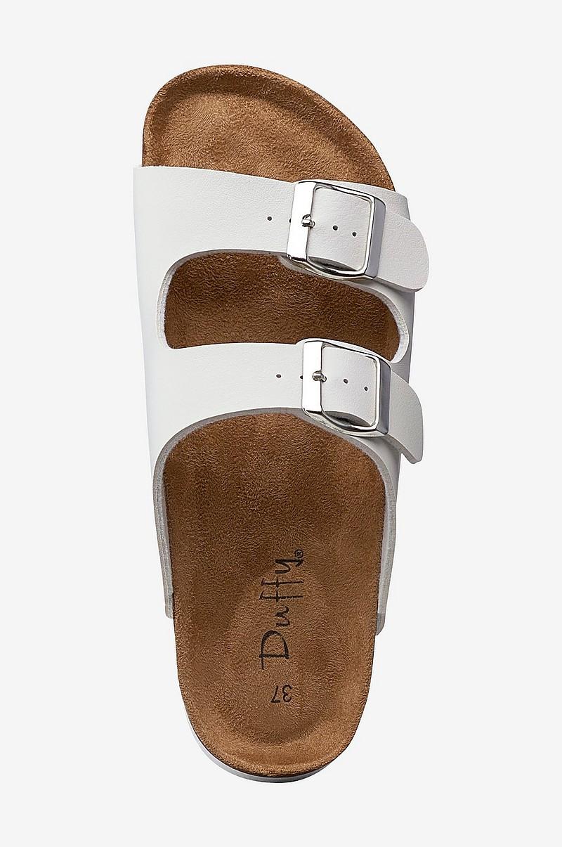 1bf1e93a387 Duffy Sandal med høj hæl - Hvid - Dame - Ellos.dk