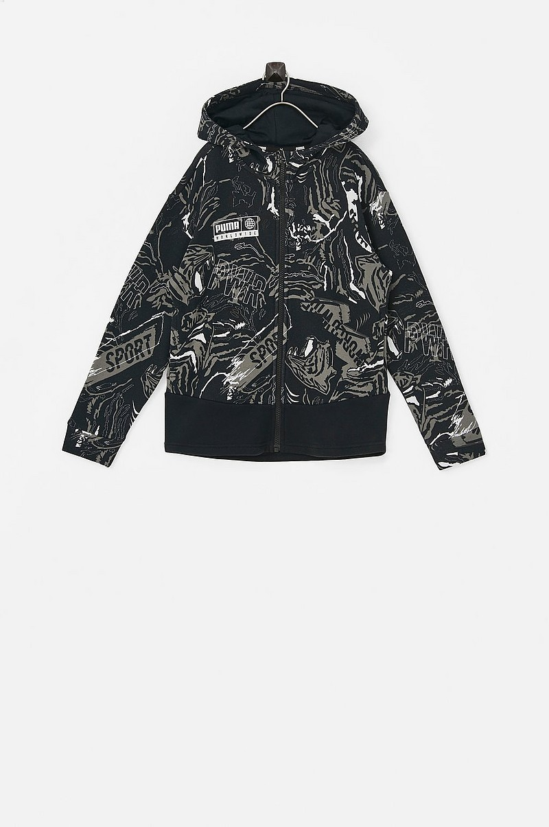 Collegetakki Alpha AOP Sweat Jacket FL B