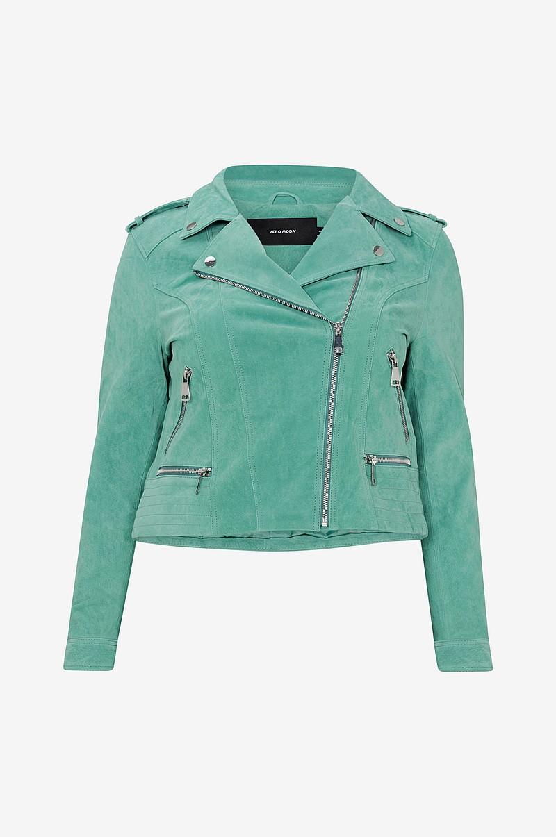 b6c61901 Vero Moda Curve Semsket jakke vmRoyce Short Suede Jacket Curve ...