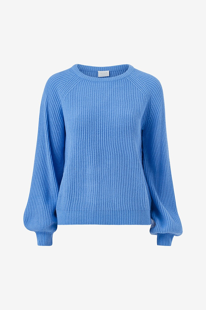 Tröja viOa Knit L/S O-Neck Top
