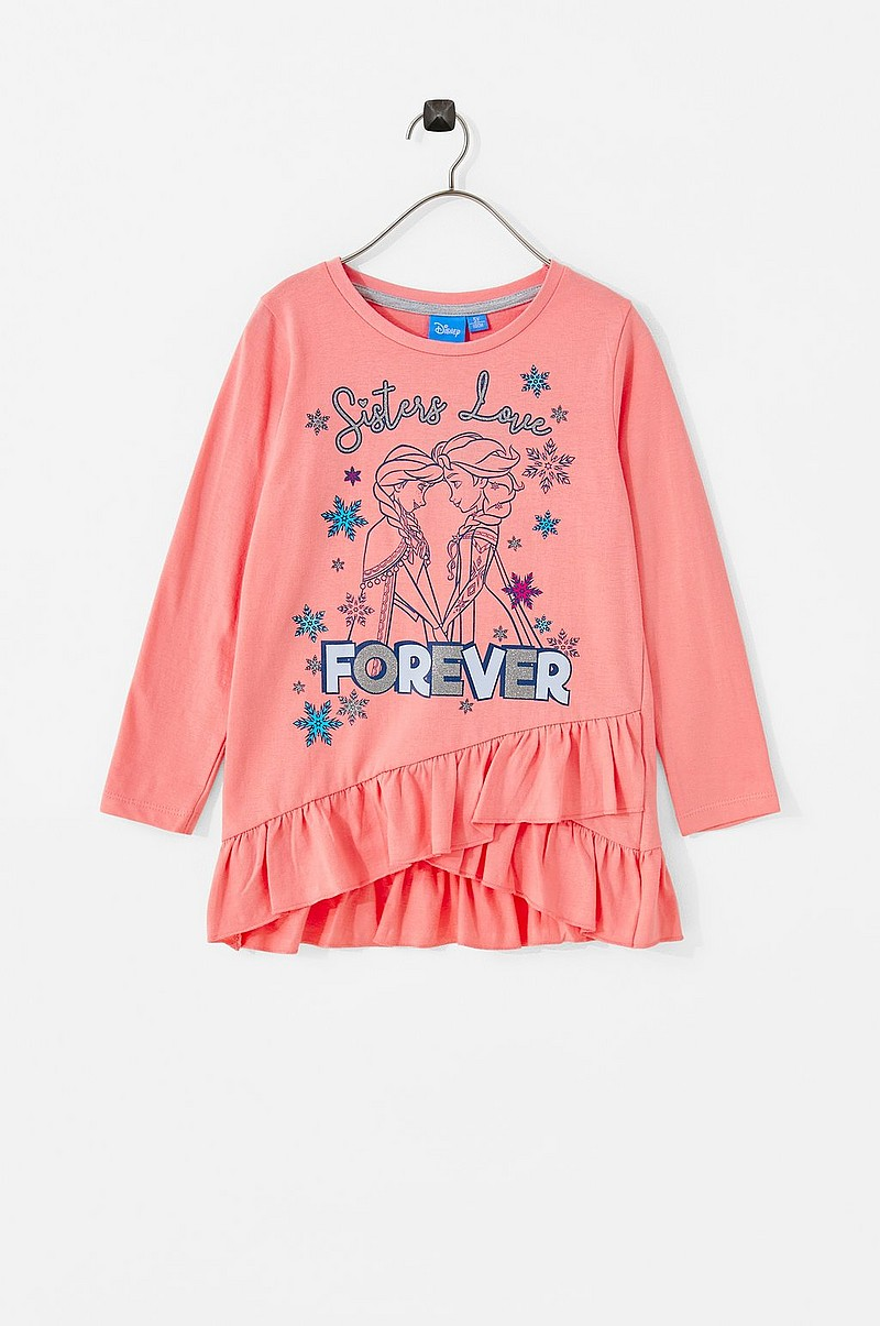 826f2b262 Disney Frozen Pusero LST-shirt Frozen - Roosa - Lapset - Ellos.fi