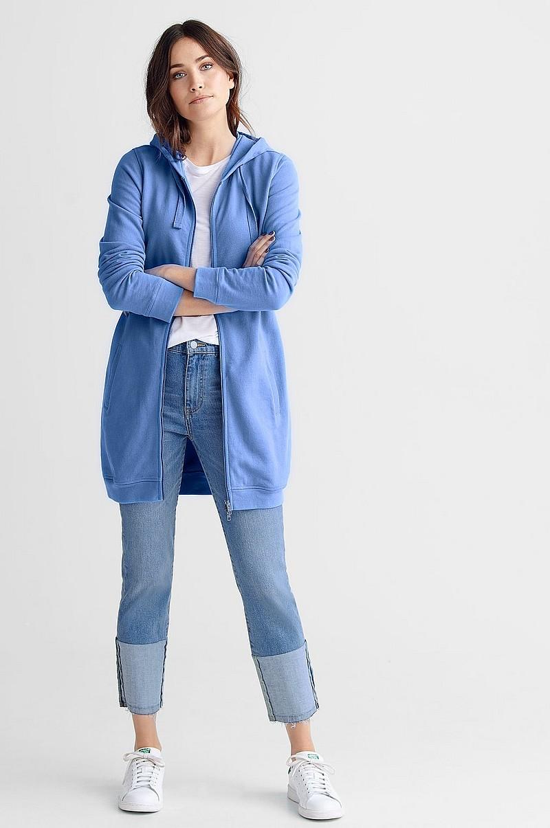 Ellos Collection Amy collegetakki - Sininen - Naiset - Ellos.fi 696e88871c