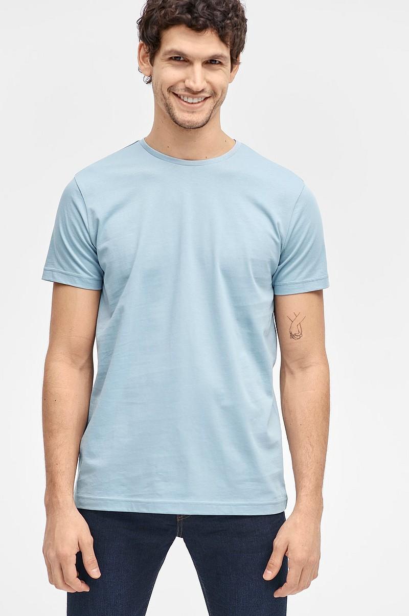 0e393678 Ellos Men T-shirt med rund hals - Blå - Herre - Ellos.no