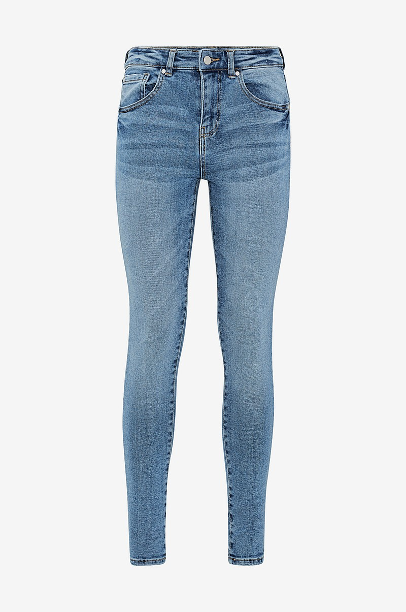 ad0fe1e56808 Ellos Collection Jeans Thea High Waist - Blå - Dame - Ellos.dk