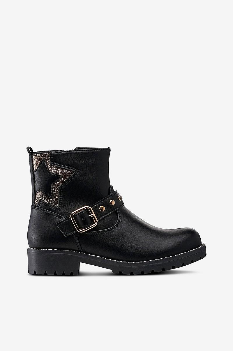 Ellos Shoes Boots Washington Star Svart Barn Ellos Se
