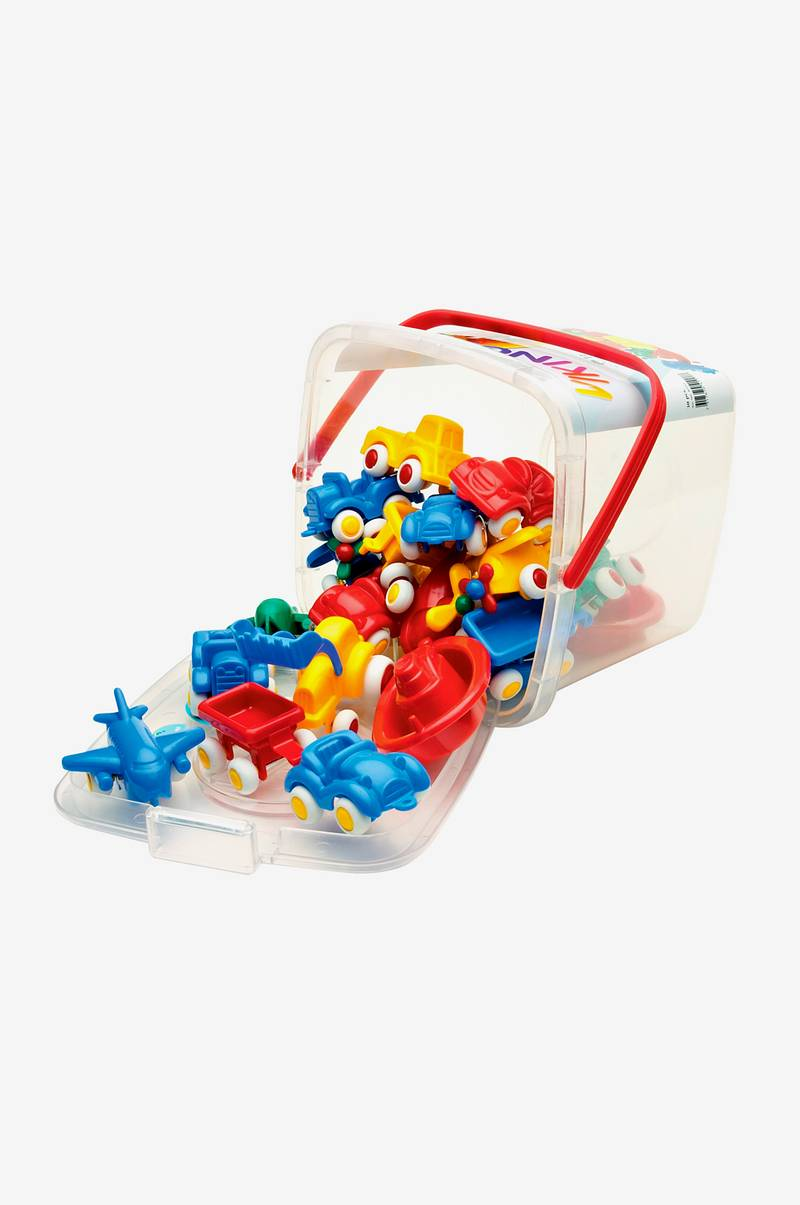 Viking Toys Spand med minibiler 20 stk. - Børn - Ellos.dk