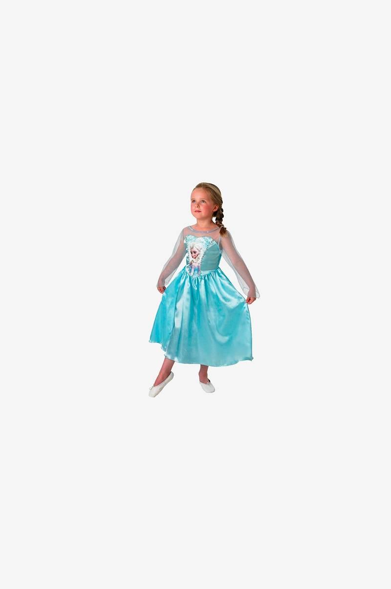 777a85d9480f Elskede Disney Frozen Frost kjole Elsa