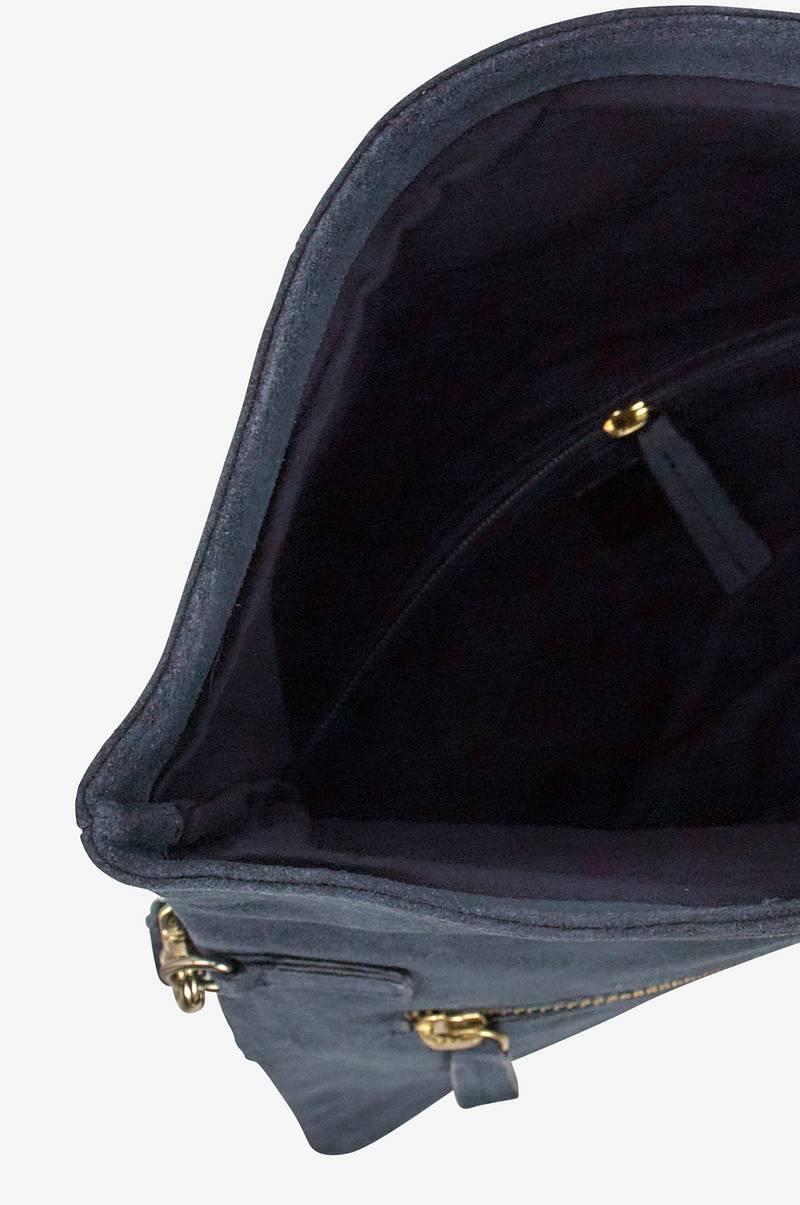 Ellos Collection Clutch Suede -mokkalaukku - Sininen - Naiset - Ellos.fi 921f27ba75