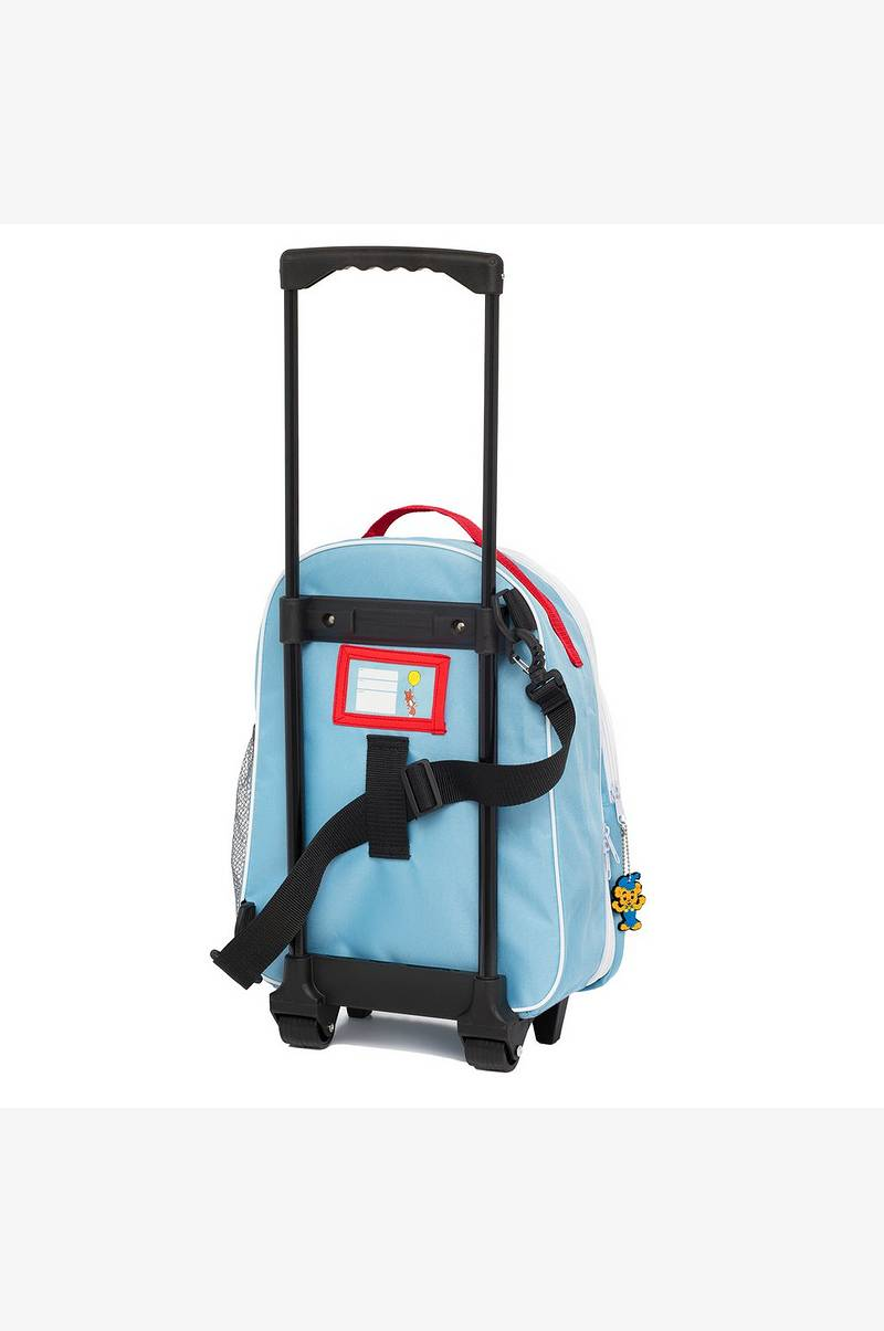 Aluminiumväska med hjul : Bamse koffert med hjul barn ellos