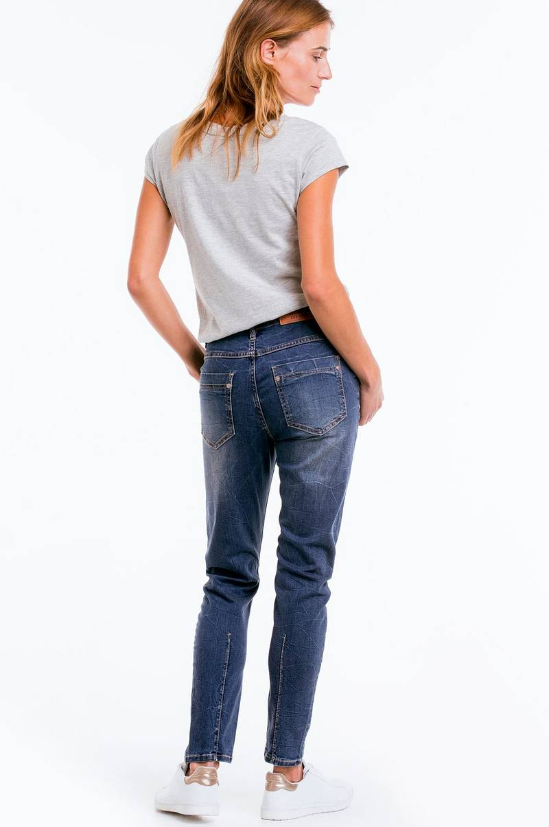 Ellos Collection Jeans Amy Loose - Blå - Dam - Ellos.se 5f553141bf66b