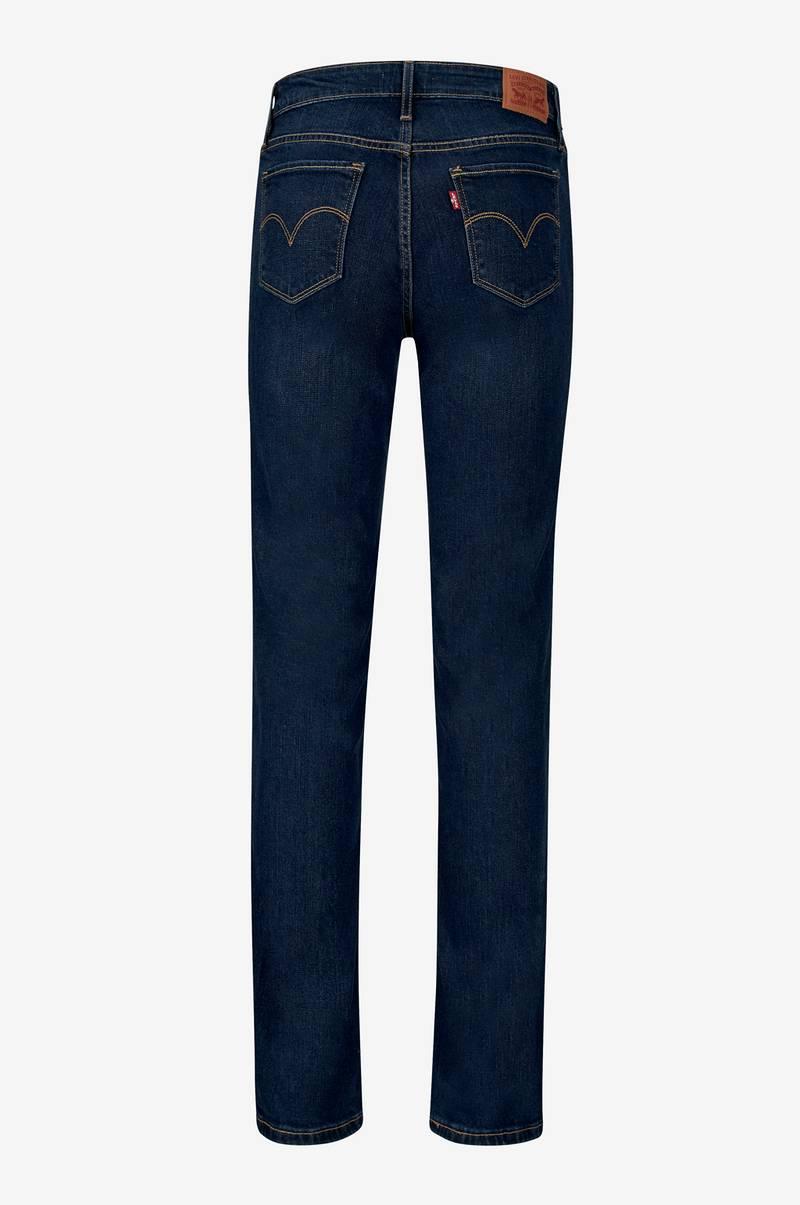levi 39 s jeans 712 slim fit bl dame. Black Bedroom Furniture Sets. Home Design Ideas