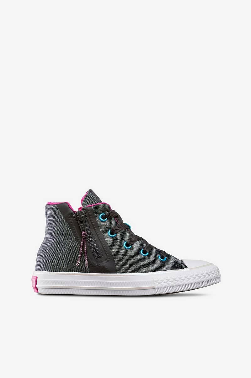 72ae8c1e1e44 Converse Sneakers Chuck Taylor All Star Sport Zip Metallic - Svart ...