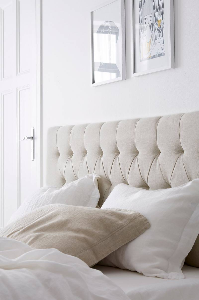 ellos home pehmustettu s ngynp ty 160 cm luonnonv ri koti sisustus. Black Bedroom Furniture Sets. Home Design Ideas