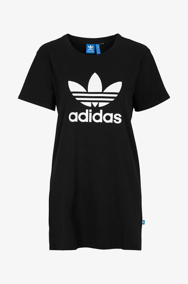 72ff9117b86 adidas Originals Klänning Trf tee dress - Svart - Dam - Ellos.se