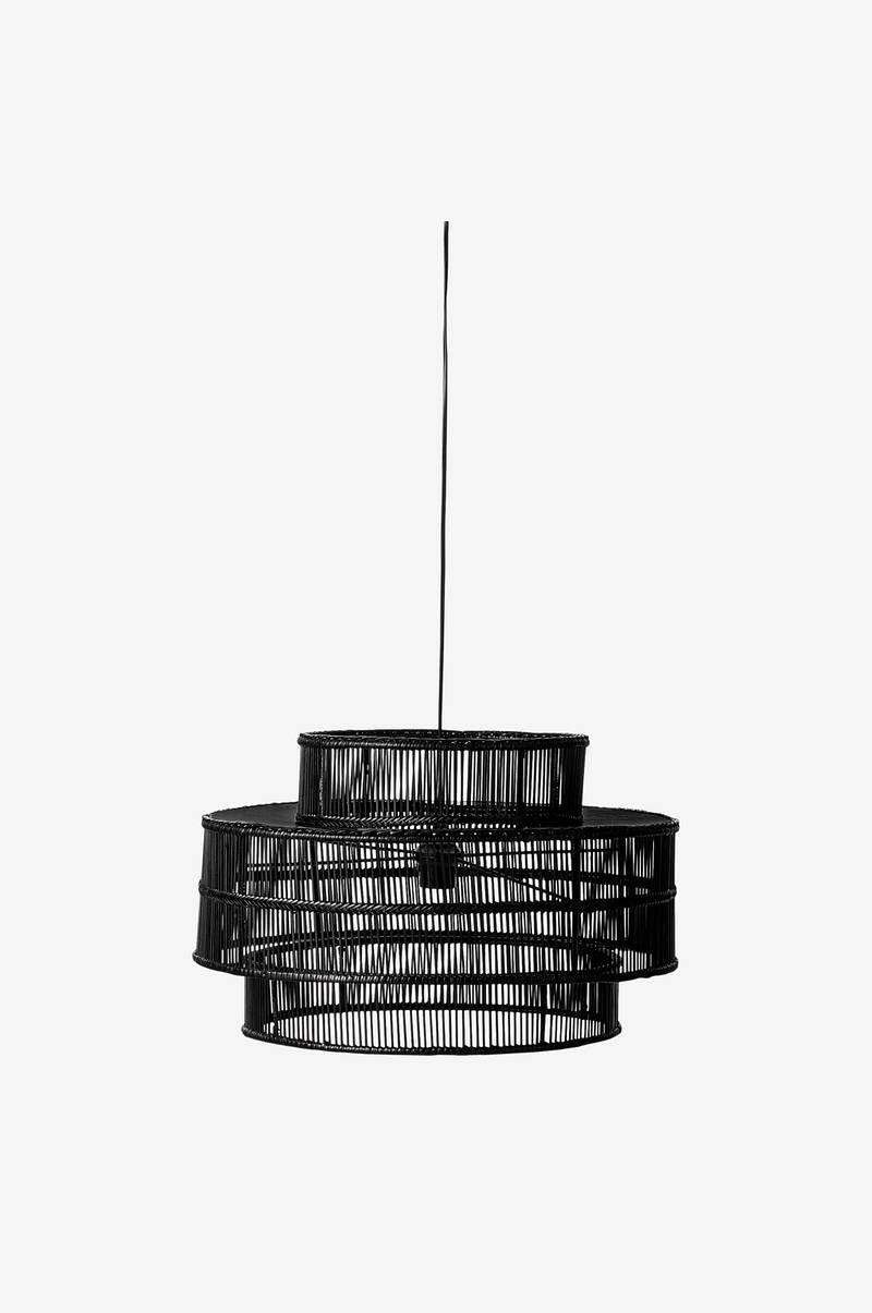 lene bjerre ailia pendant 50 cm sort bolig indretning. Black Bedroom Furniture Sets. Home Design Ideas