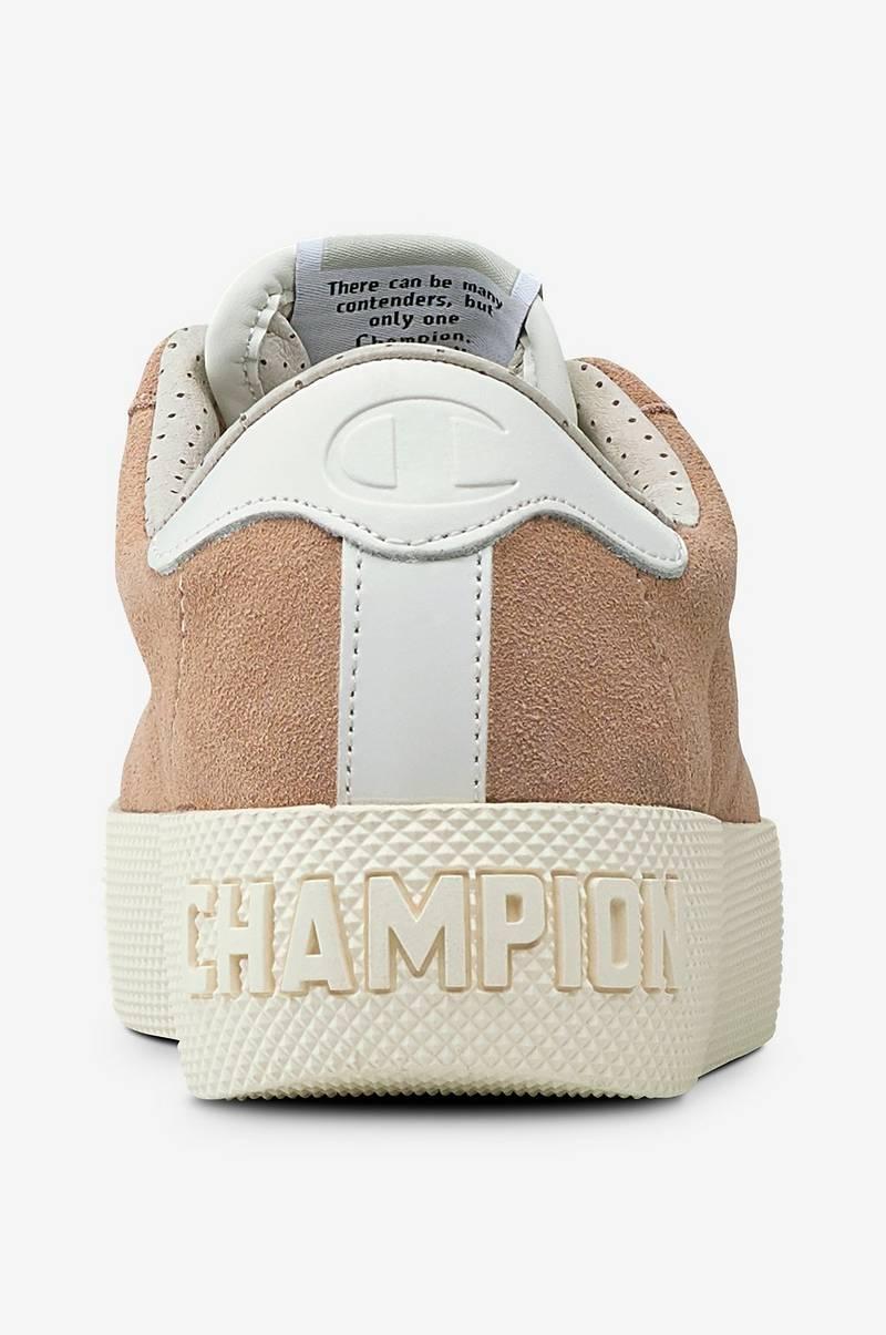 141c82563004f Champion Low Cut Shoe Era Suede - Rosa - Dame - Ellos.no