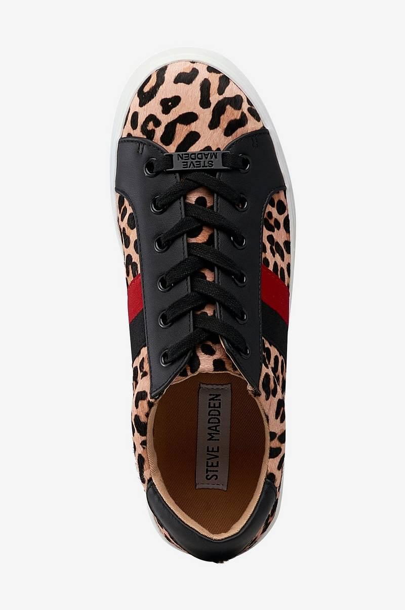 0748de625bd Steve Madden Sneakers Belle leopard - Svart - Dam - Ellos.se