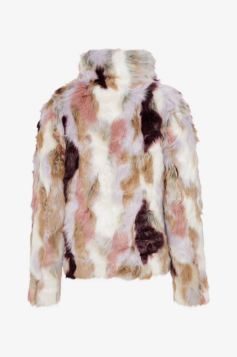 viVeria Faux Fur Jacket tekoturkistakki