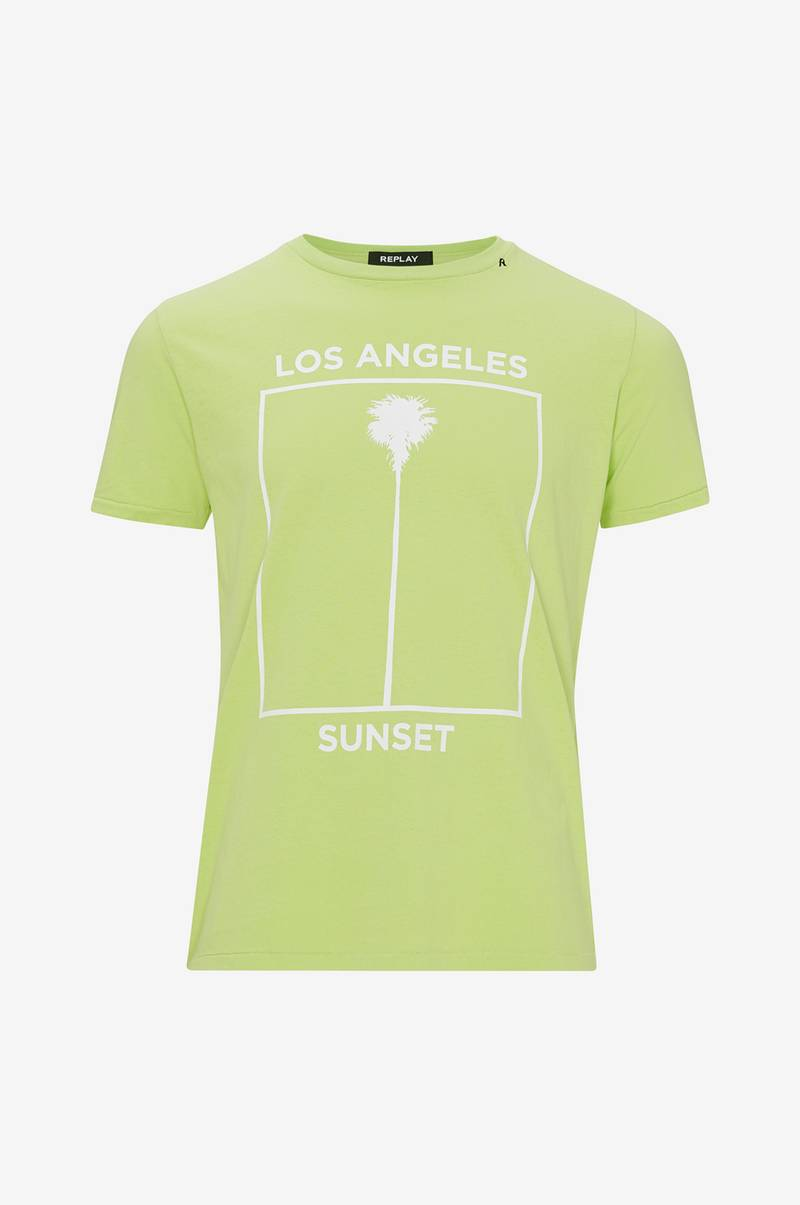 T-shirt Los Angeles Sunset