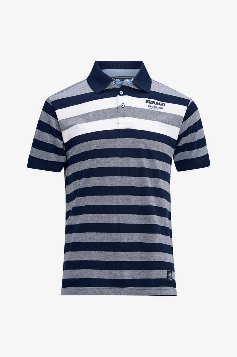 Poloshirt Striped Polo Pique