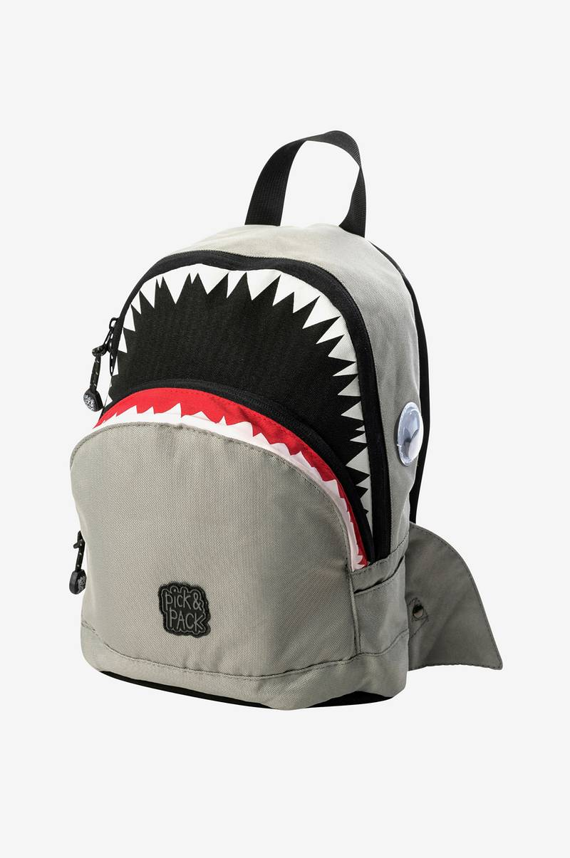 Shark backpack construction