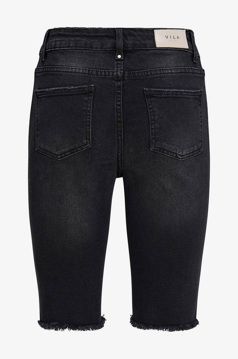 Denimshorts viAurelie Long Denim Shorts