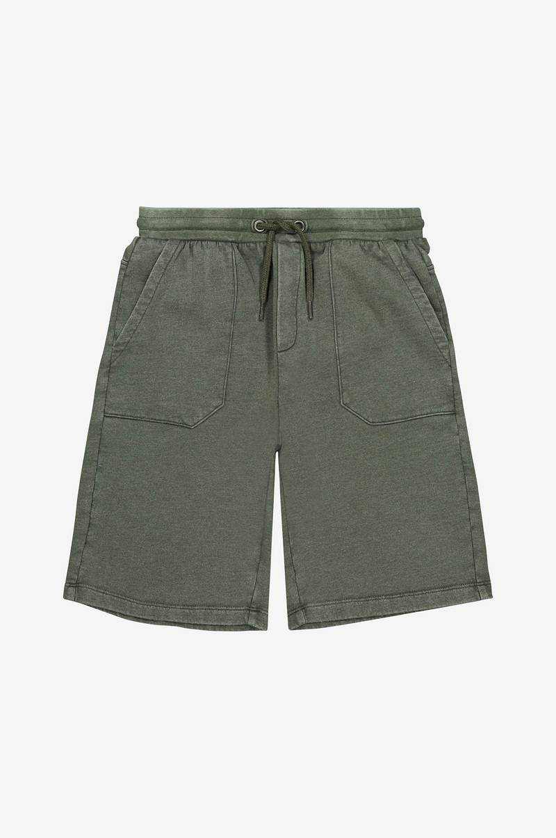 Shorts i sweatmateriale