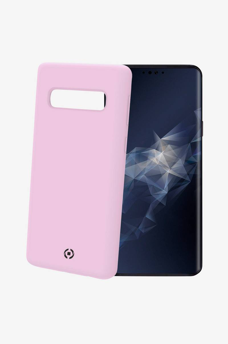 Soft-touch cover Galaxy S10 Rosa