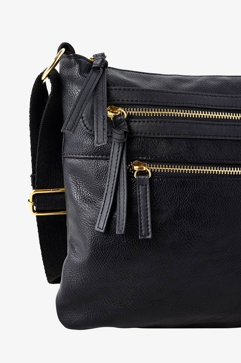 Ellos Collection 2 zip laukku - Musta - Naiset - Ellos.fi 847fb49251