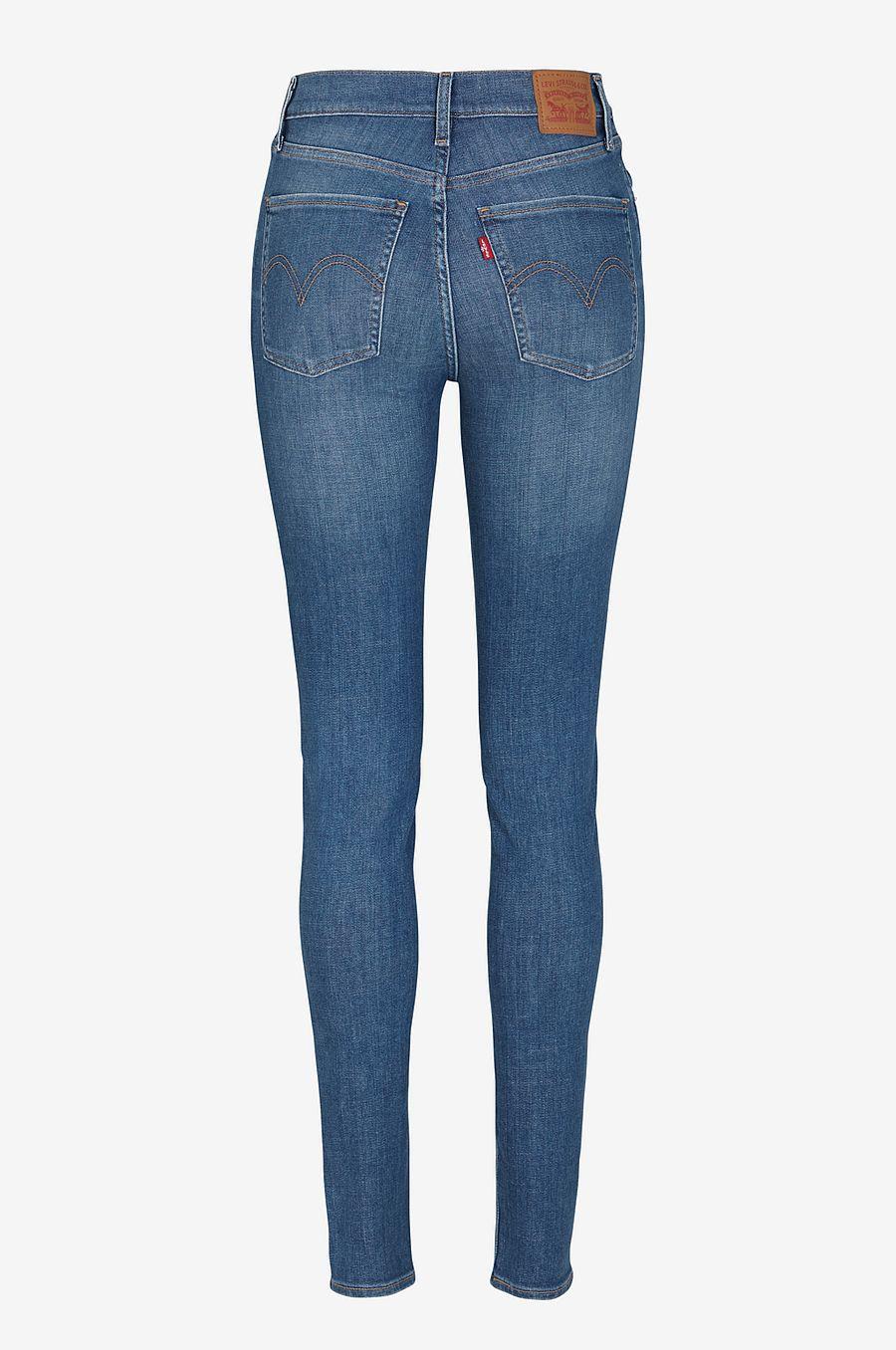 levis jeans dam hög midja