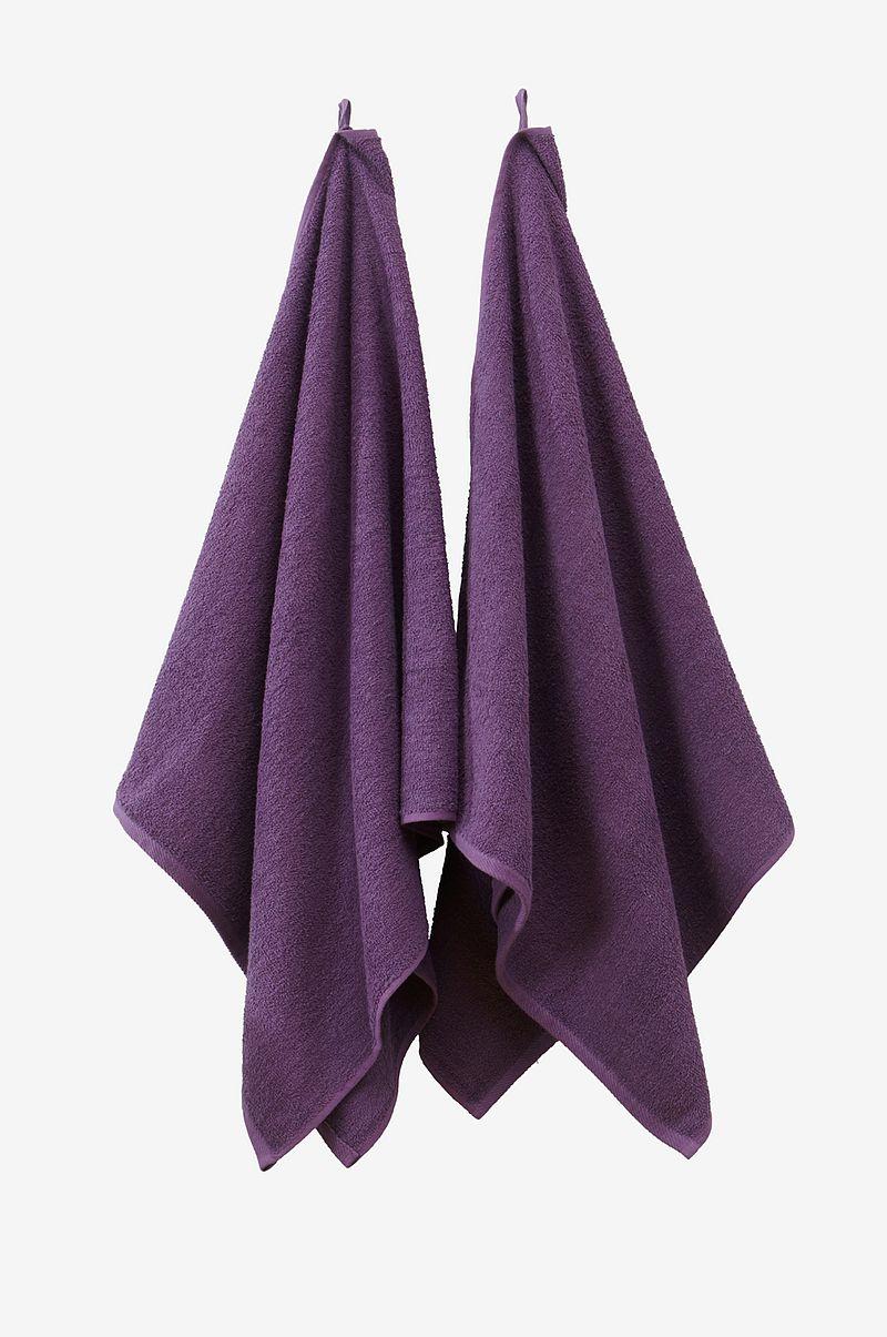 Jotex AMELIE badlakan 2-pack - Lila - Textilier - Homeroom.se 54fd0f064de33