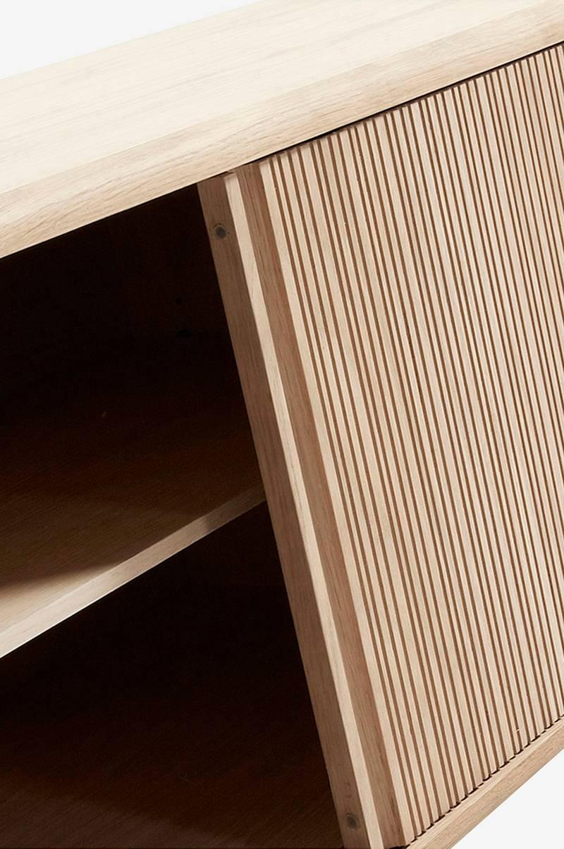 Oppdatert Ellos Home HENDRIX skjenk 160x45 cm - Natur - Hjem & innredning JP-88