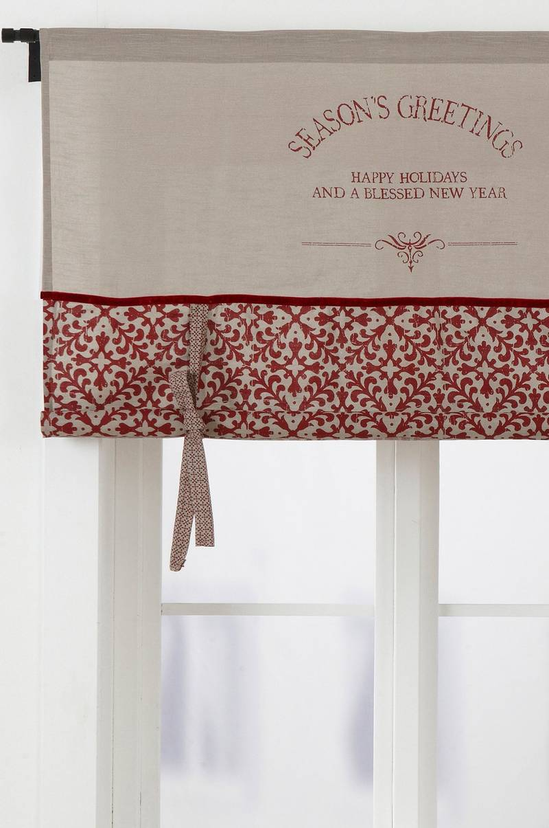 SEASON GREETINGS roll up-gardin