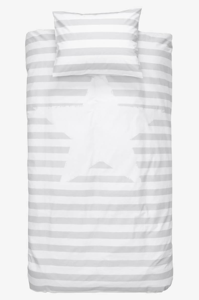 Oppdatert Kid stripe KID STRIPE sengesett 2 deler - økologisk - Grå GE-16