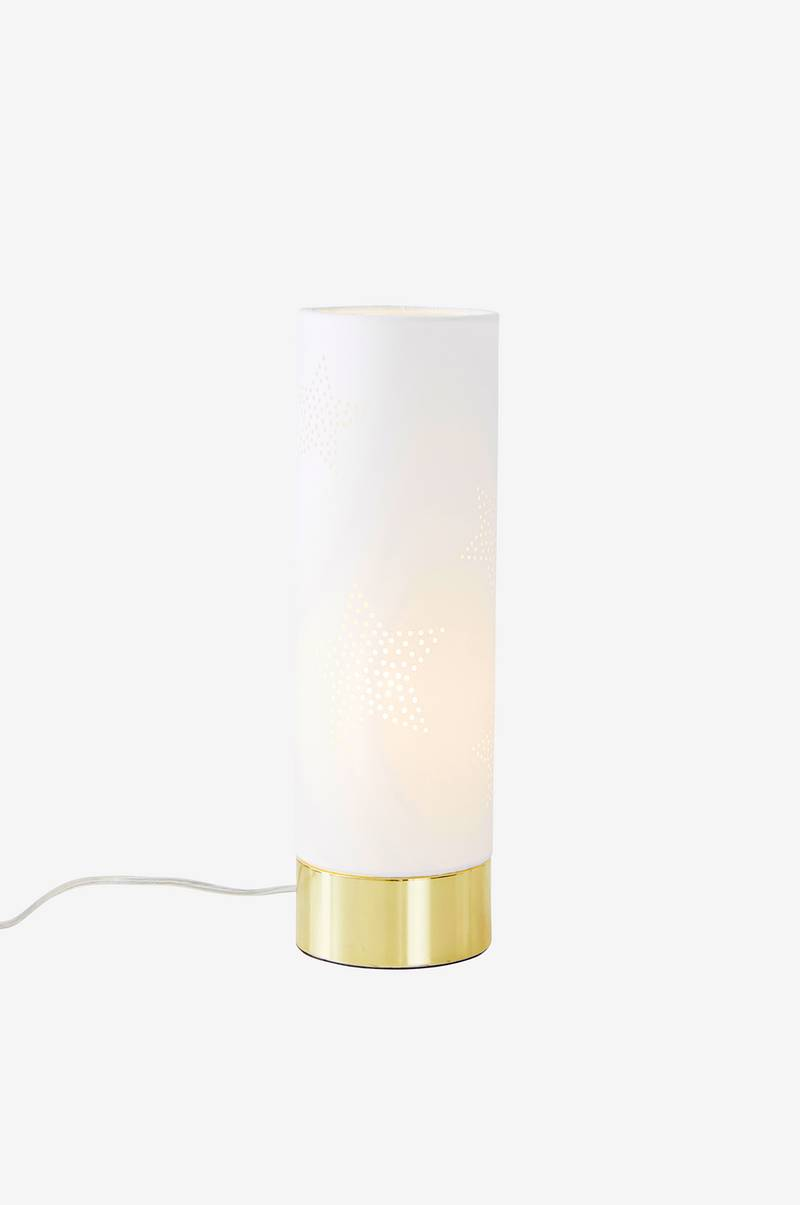 GLIMMARED bordlampe, lav