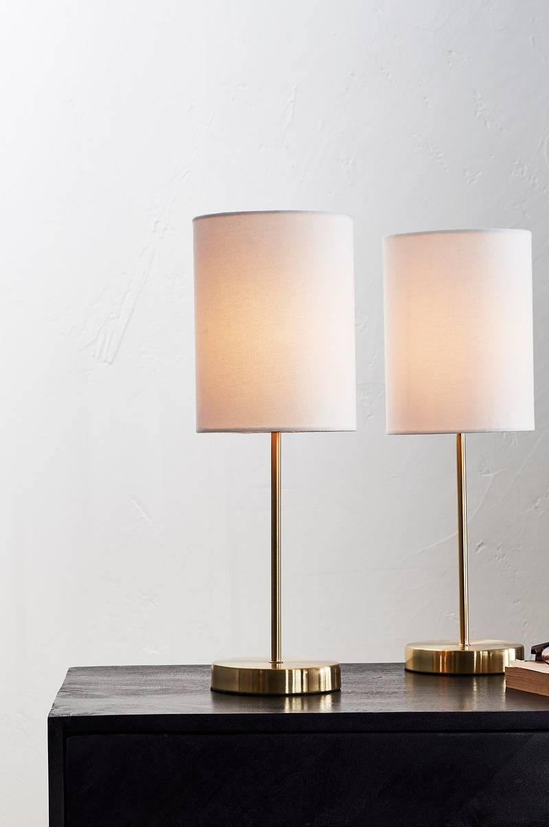 SETH bordslampa 2-pack