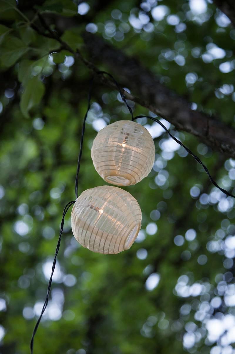 Helt nya FESTIVAL ljusslinga - solcell - Natur - Belysning - Jotex.se QN-29