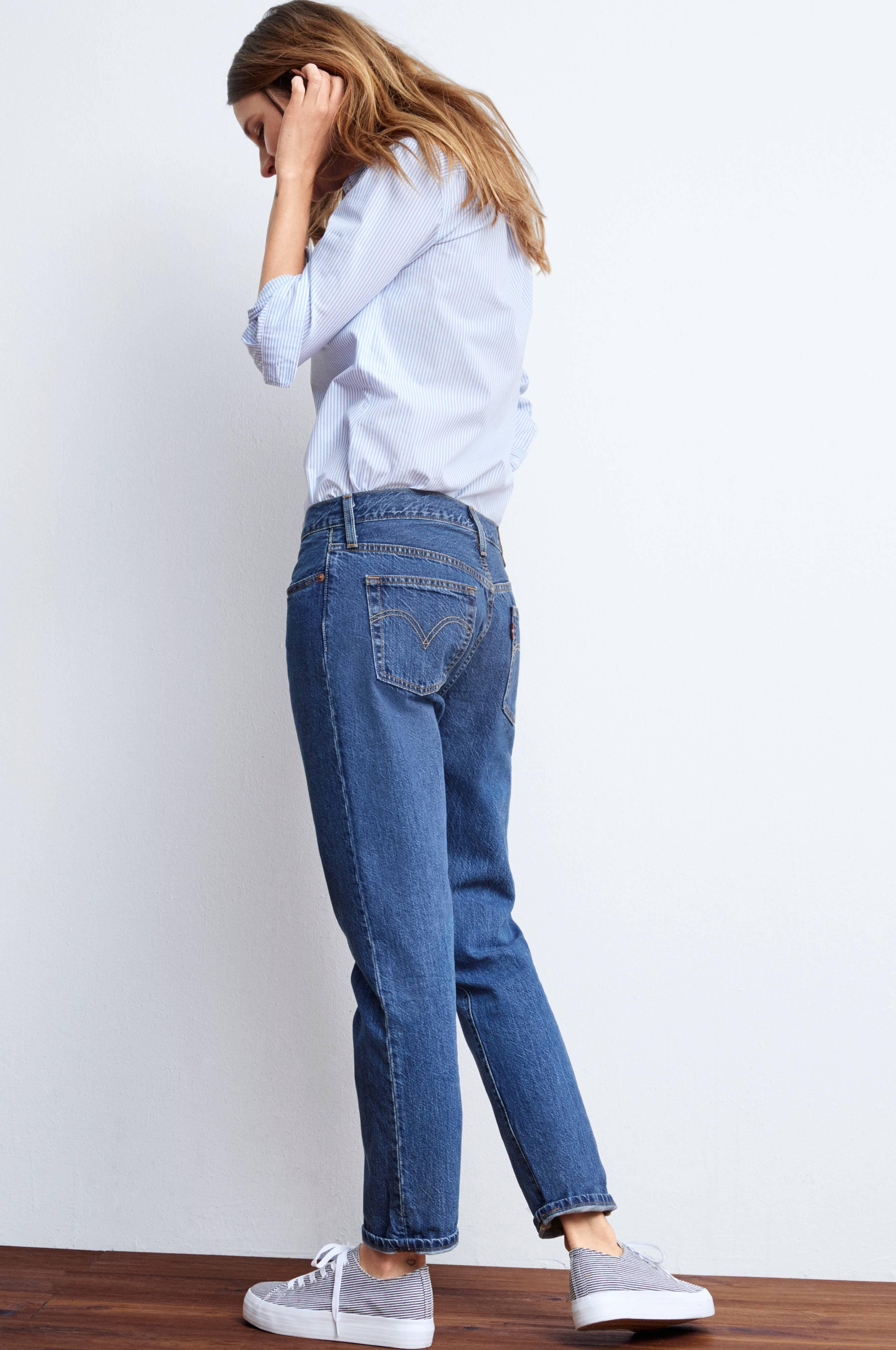 Levi s Jeans 501 CT - Blå - Dam - Ellos.se 9db042ba1a48a