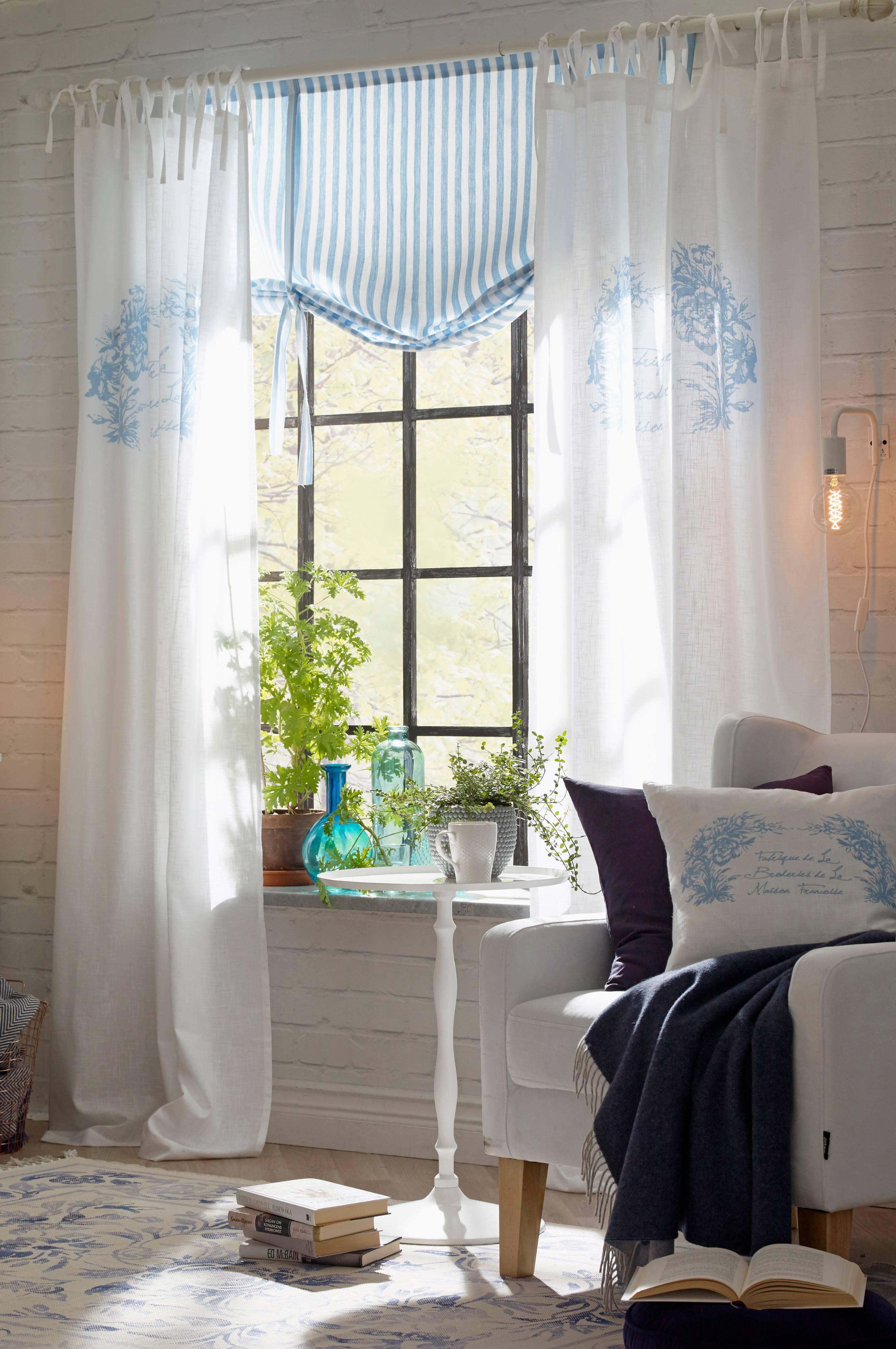Romantiske Gardiner. Good Lantliga Gardiner Lantlig Inredning Sevendays P Interior Och Exterior ...