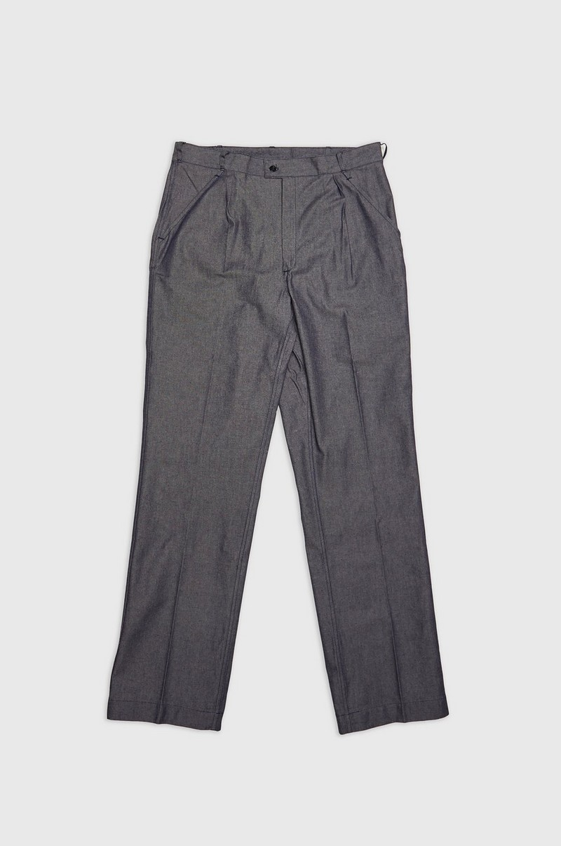 French Denim Pants
