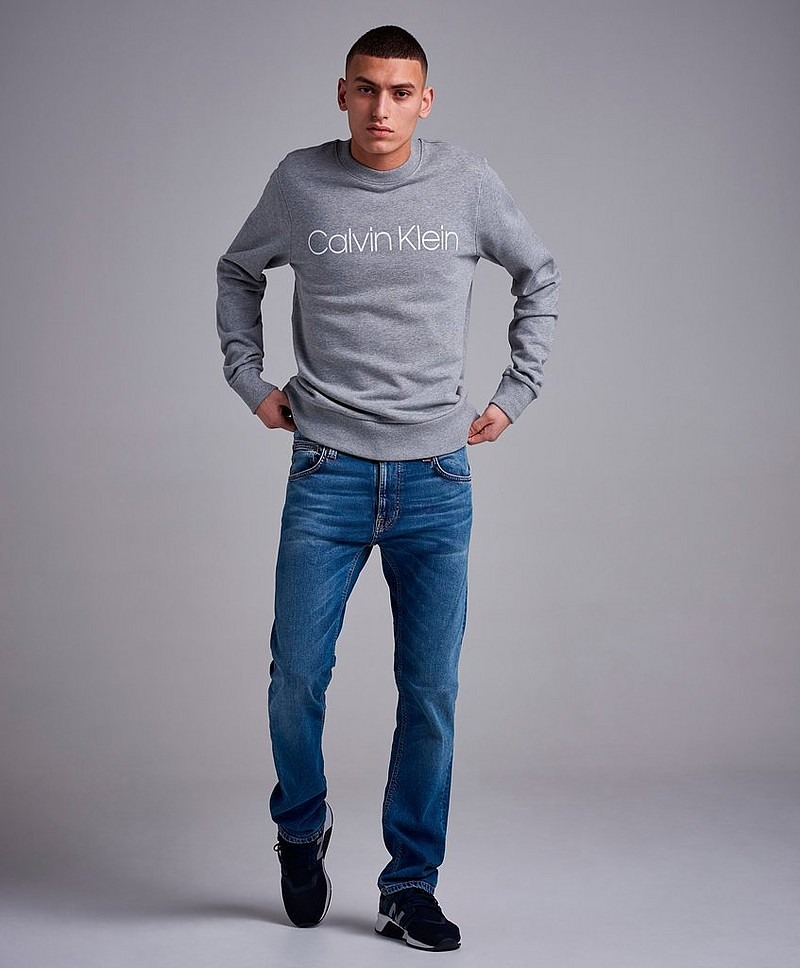 Cotton Front Logo Sweatshirt