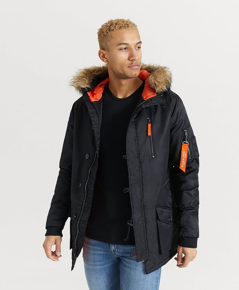 Walker Parka Black