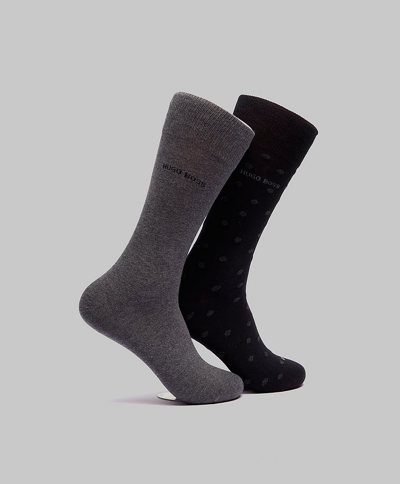 2-pack RS Dot Black/Grey