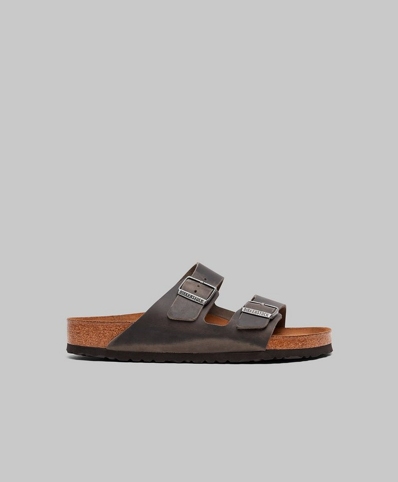 Arizona Soft Footbed Oiled Leather Iron